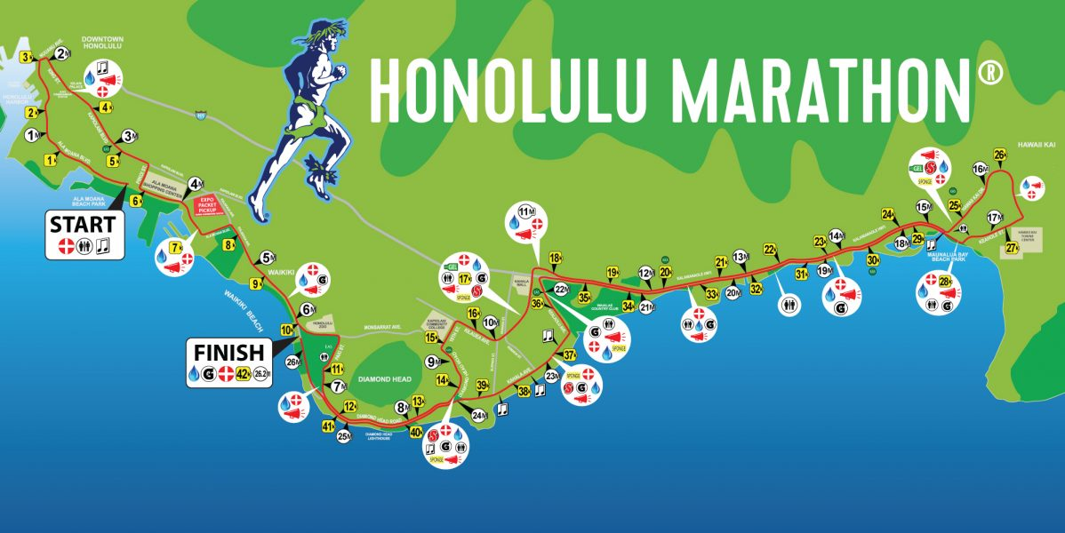 Course Description Honolulu Marathon