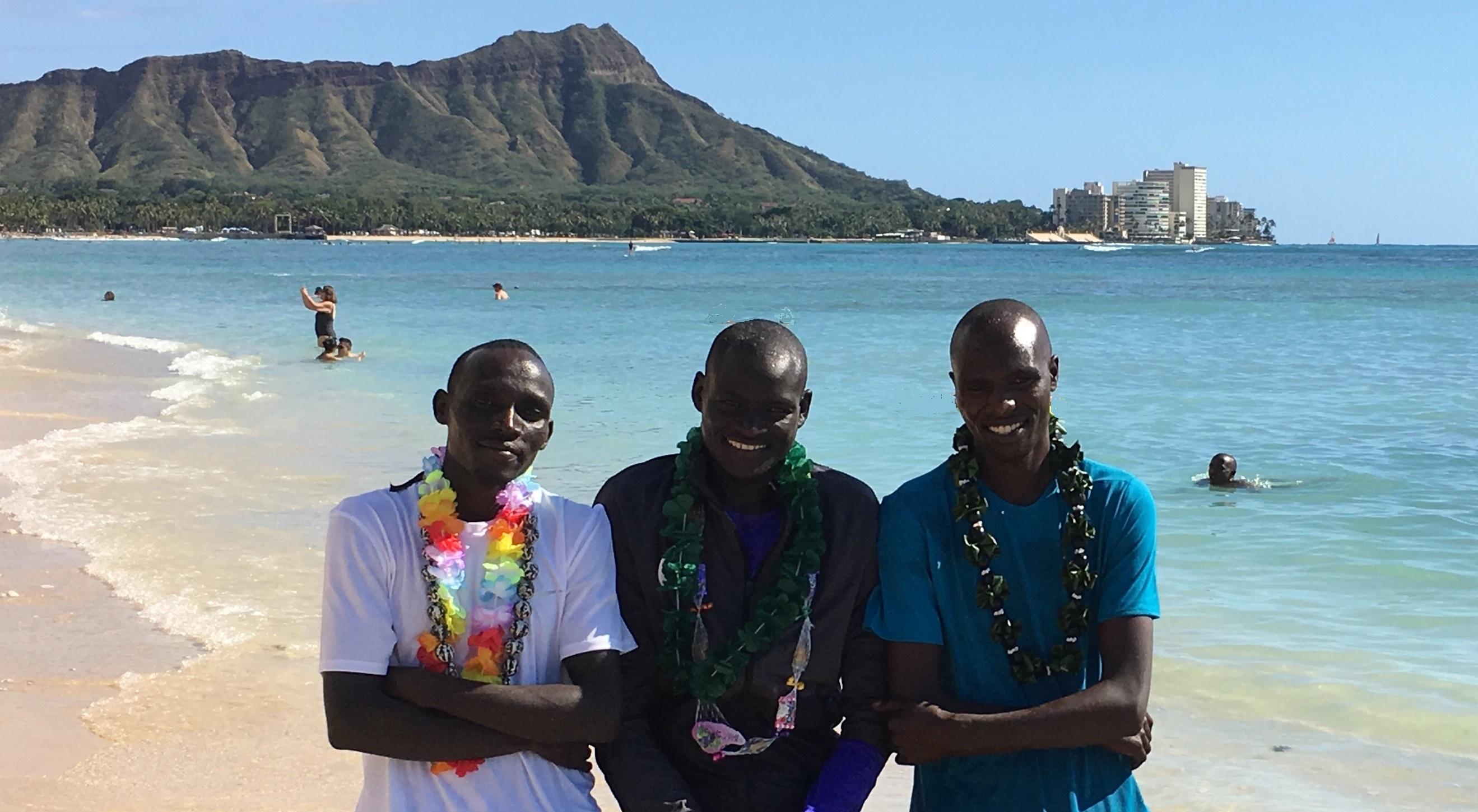 Image for Big Three Set to Battle for Honolulu Marathon Men's Title