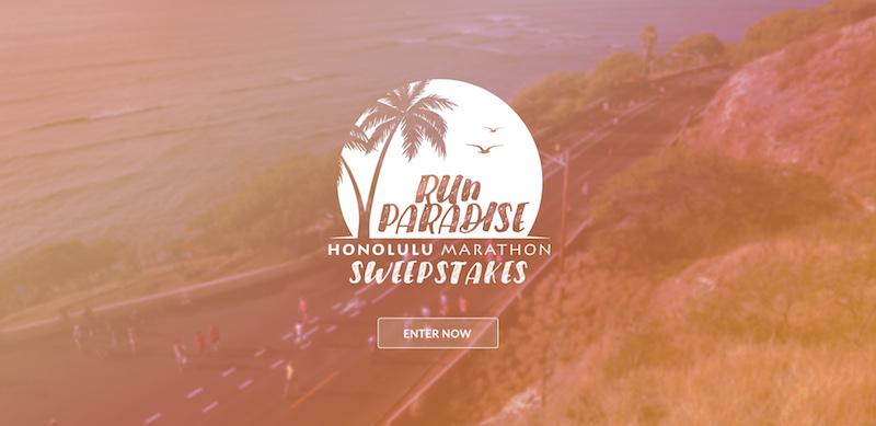 Win a trip to Honolulu in our sweepstakes : Honolulu Marathon