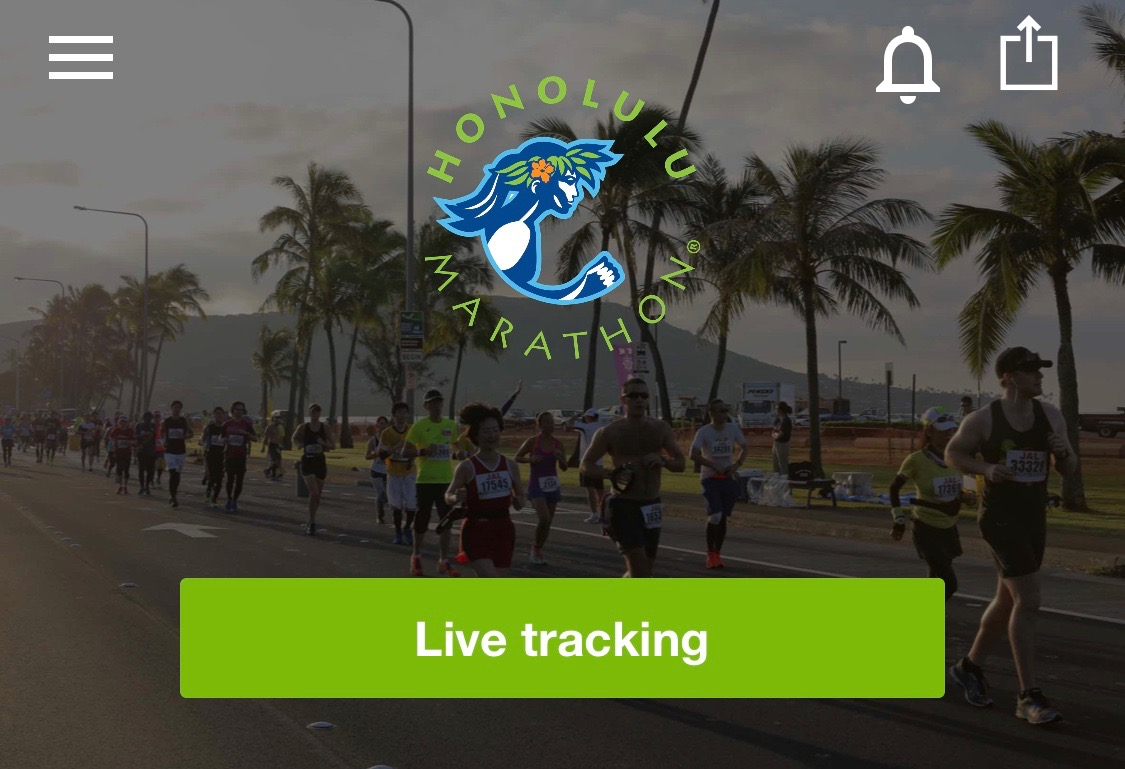 Image for Track runners with the event app