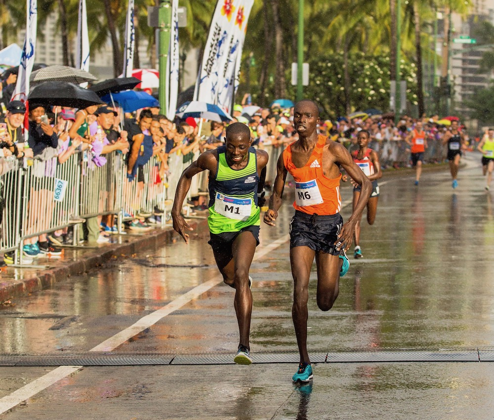 Image for CHESEREK WINS FAST KALAKAUA MERRIE MILE IN PHOTO FINISH