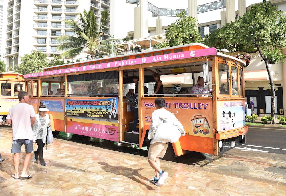 Honolulu Christmas Trolley 2021 Marathon Expo Packet Pick Up Honolulu Marathon