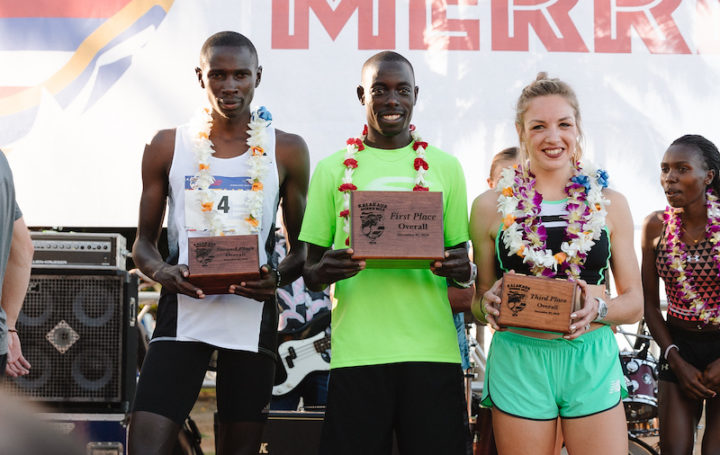 Image for THREE-PEAT FOR CHESEREK AT KALAKAUA MERRIE MILE