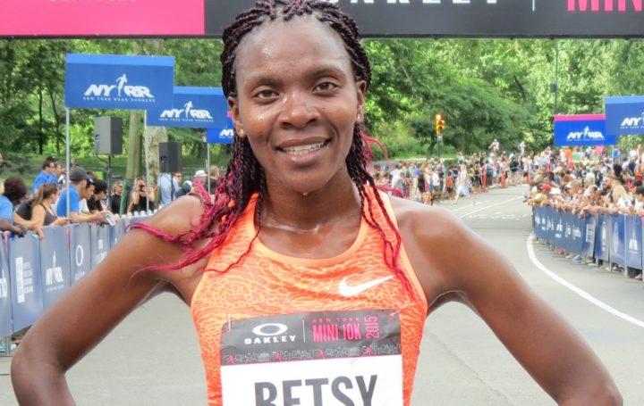 Image for Honolulu Marathon contender Betsy Saina feeling at home
